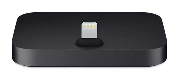 iPhone Lightning Dock noir