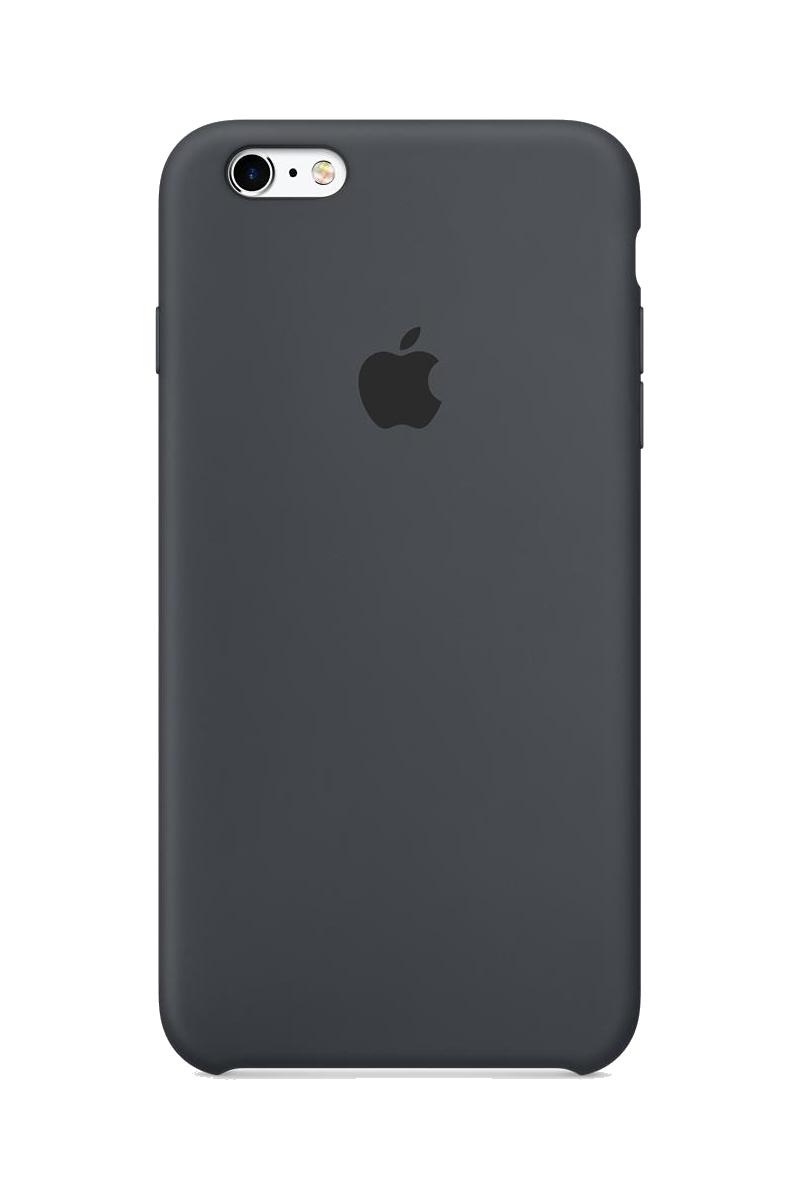 Coque en silicone iPhone 6s Plus - Gris anthracite