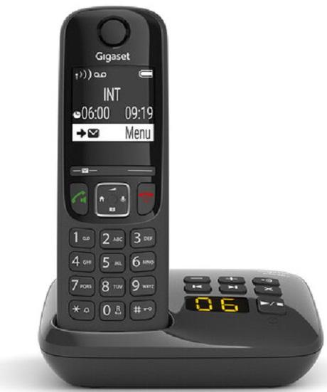 Téléphone fixe Gigaset AS 690 A Solo répondeur