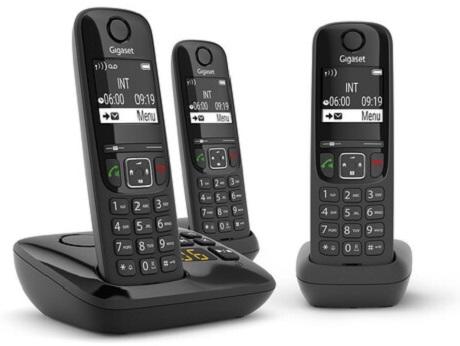 Téléphone fixe Gigaset  AS 690 A Trio répondeur