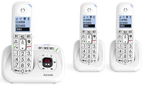 Téléphone fixe Alcatel XL 785 Voice Trio