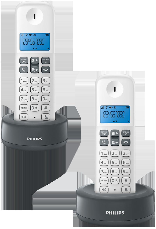 Téléphone sans fil Philips D1312 duo