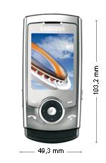Samsung U600 Silver