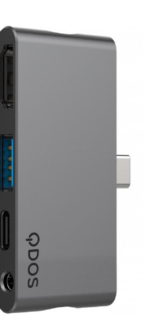 Hub PowerLink Nano QDOS gris sidéral