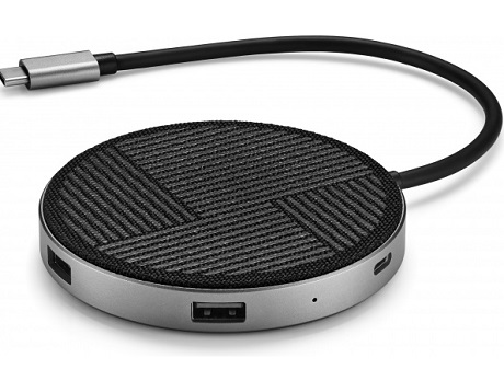 Hub USB-C Powerlink Air 6 en 1 chargeur sans fil Qi