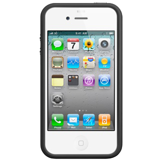 Bumper Noir Apple iPhone 4  MC839