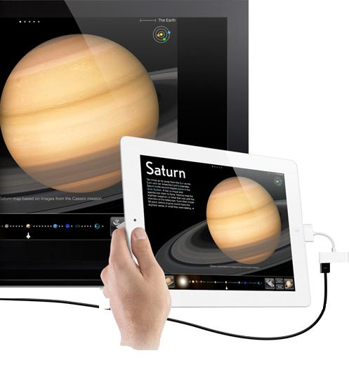 Adaptateur HDMI Apple iPad 2 MC953