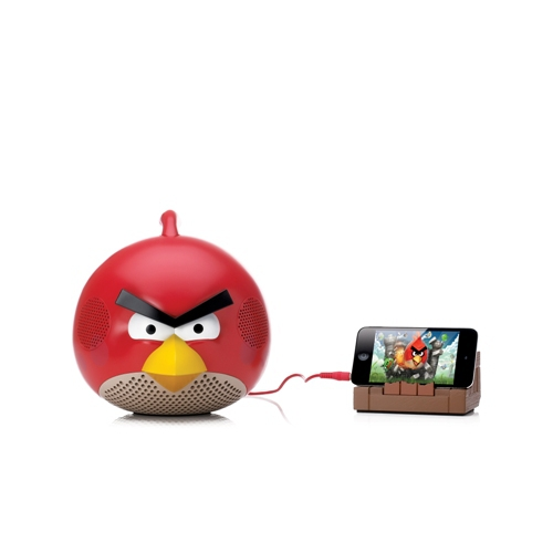 Station Angry Birds Gear4 Rouge iPod, iPhone, iPad