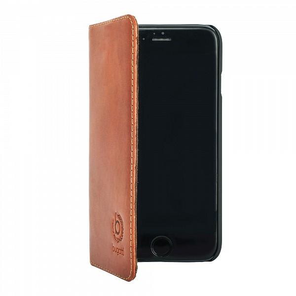 Etui folio Bugatti cognac Iphone 6