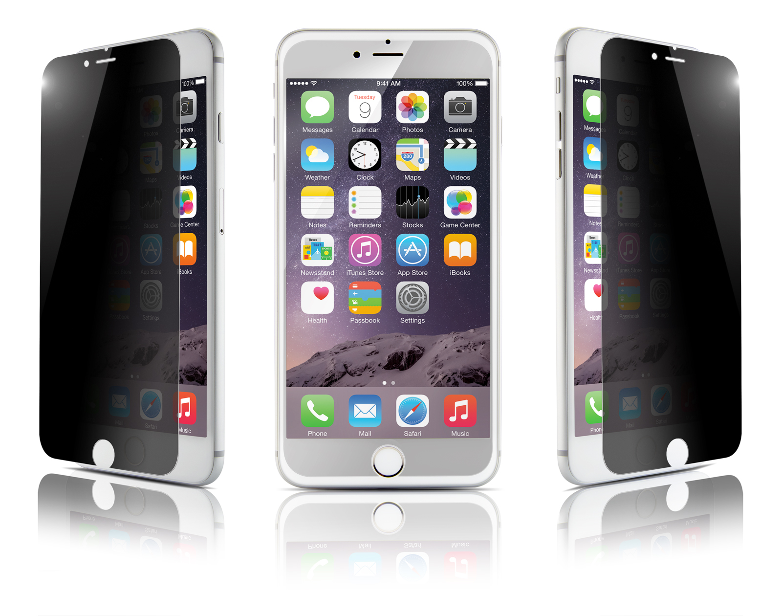 Film Optiguard Glass Privacy pour Iphone 6