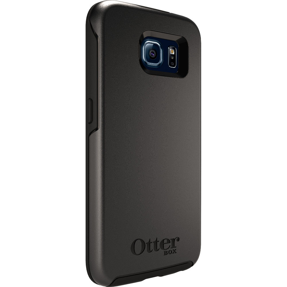 Coque Samsung Galaxy S6 Otterbox symmetry noire