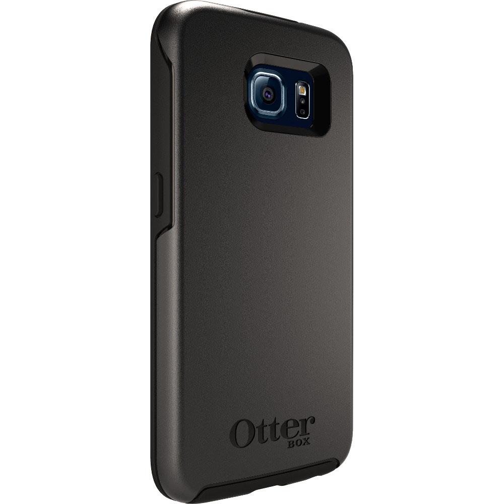 Coque Samsung Galaxy S6 Otterbox symmetry noire