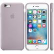 Coque en silicone iPhone 6s - Lavande