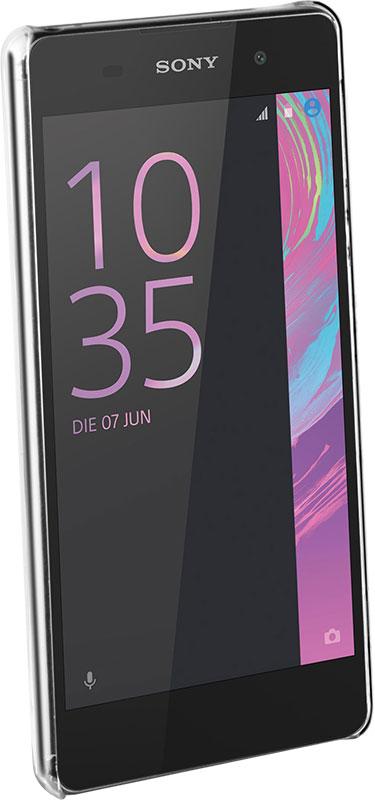 Coque de protection transparente Sony Xperia E5