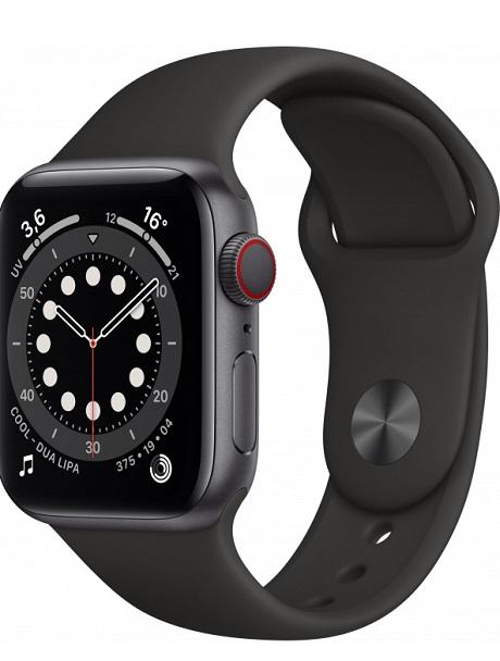Apple Watch Series 6 4G Alu 40mm gris sidéral 32Go