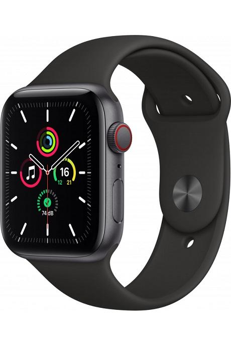 Apple Watch SE 4G boitier Alu 44mm gris sidéral 32Go