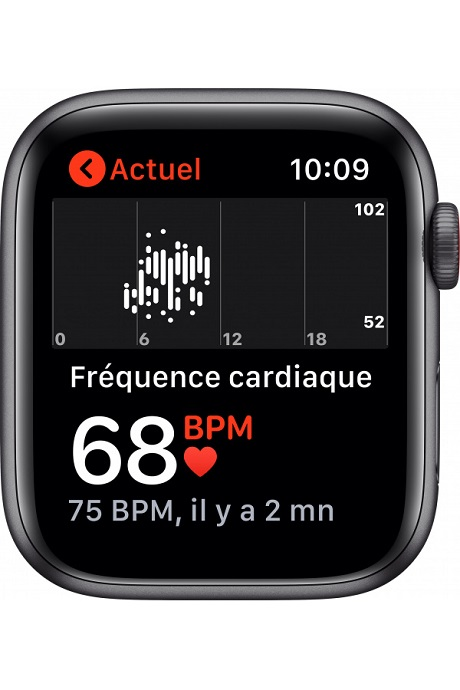 Apple Watch SE 4G boitier Alu 40mm gris sidéral 32Go