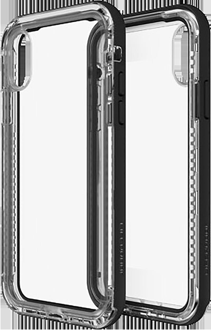 Coque Lifeproof iPhone X NEXT Crystal noir