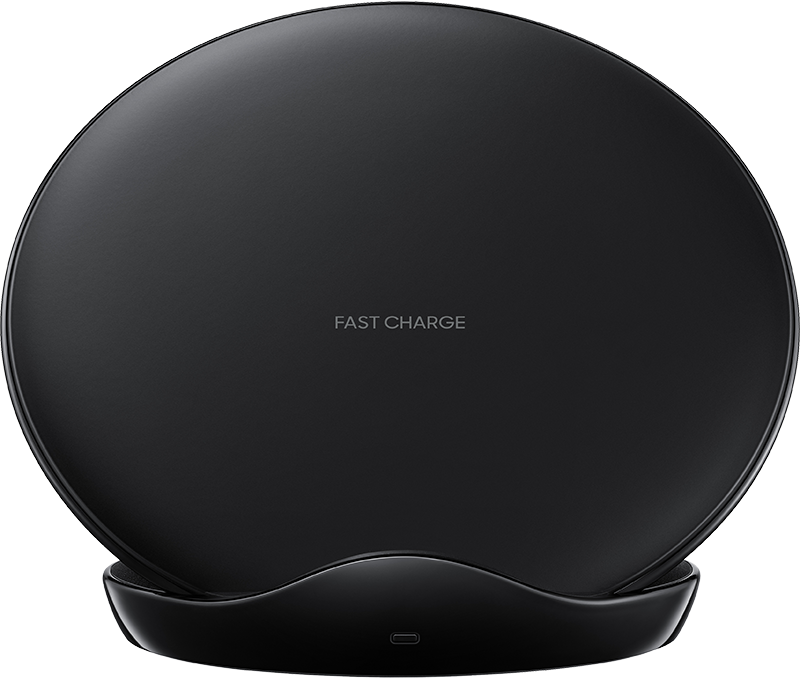 Chargeur induction Samsung stand USB C noir