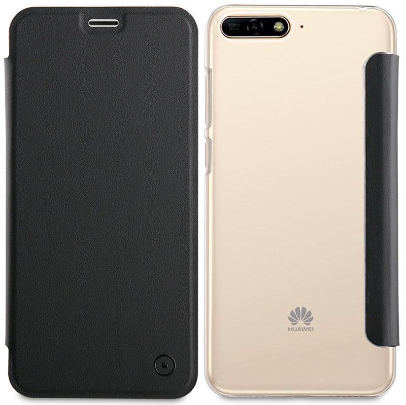 Etui folio Muvit Huawei Y6 2018 noir