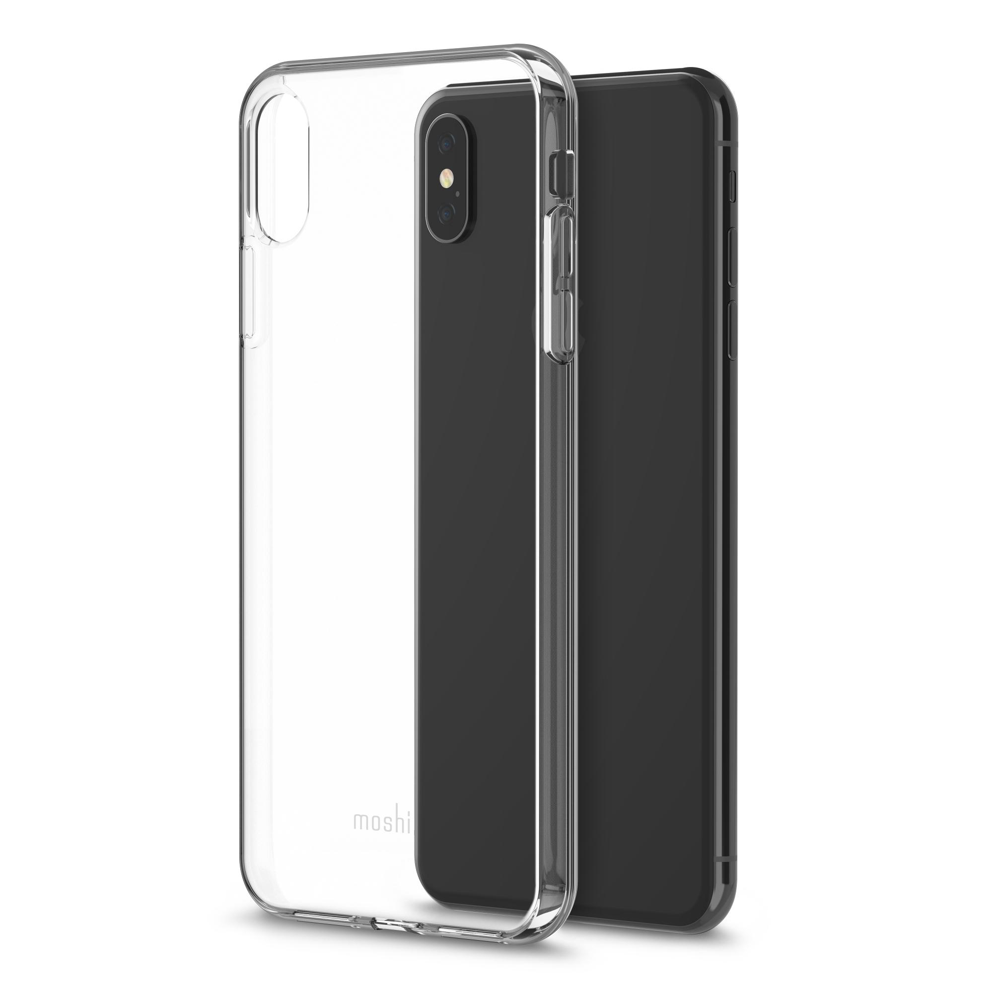 Coque vitros moshi iPhone Xs Max transparente