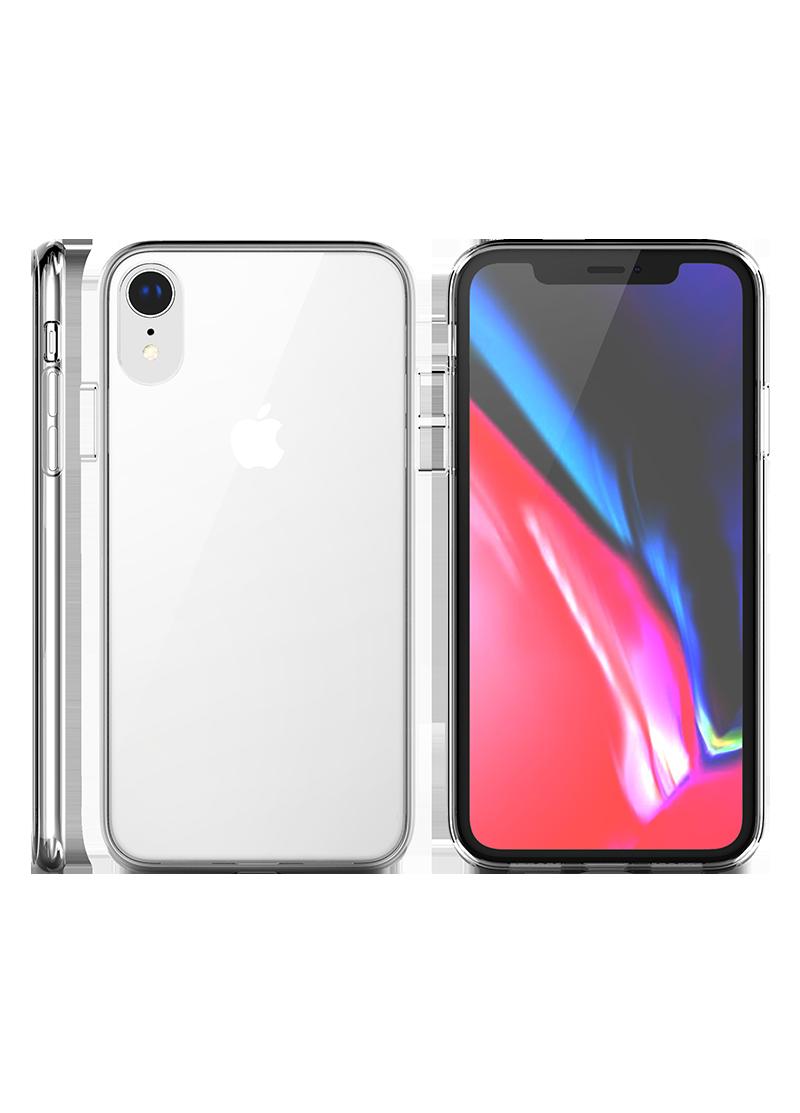 Coque Hybrid QDOS iPhone XR transparente