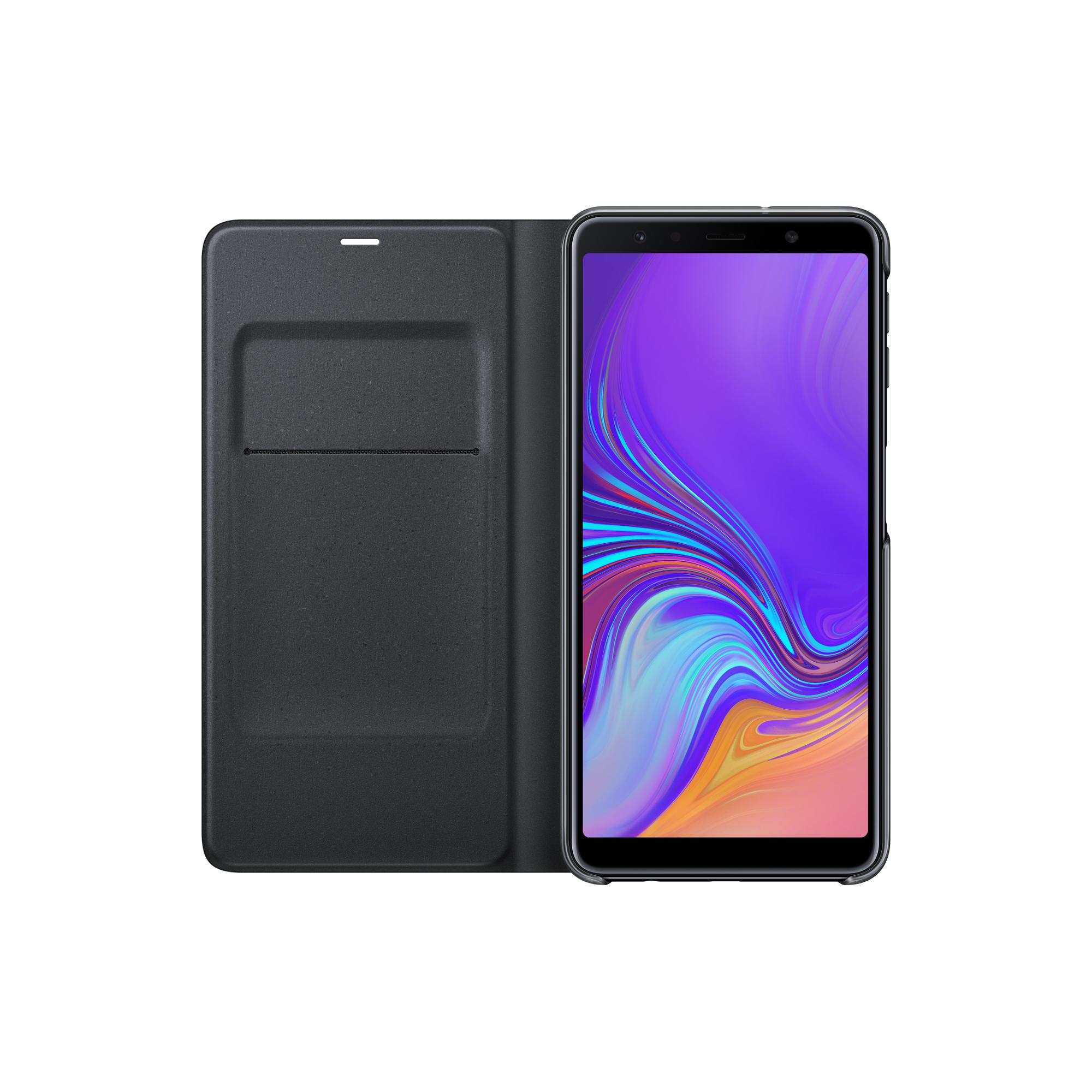 Etui folio Samsung Galaxy A7 noir