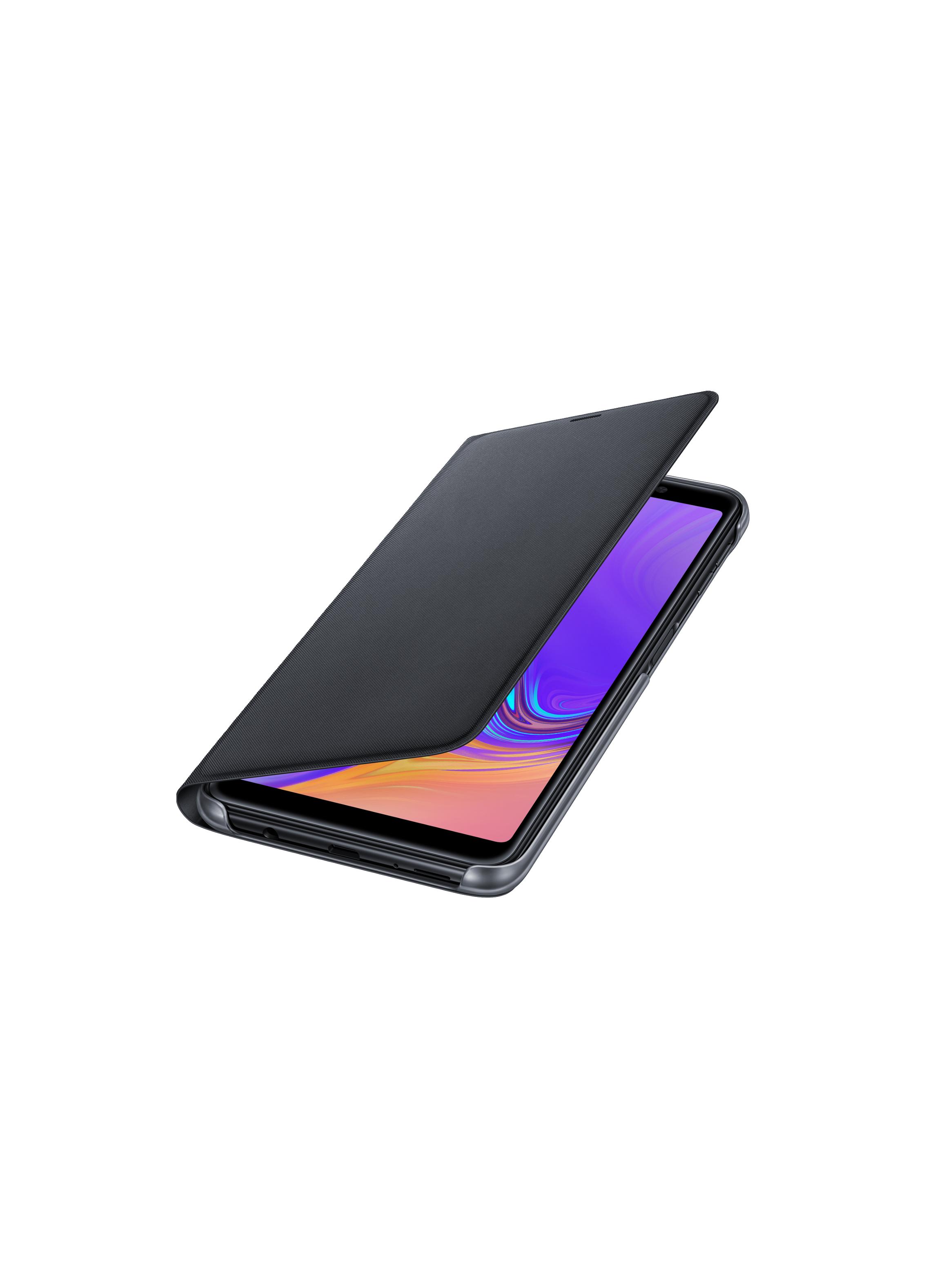 Etui folio Samsung Galaxy J6 Plus noir