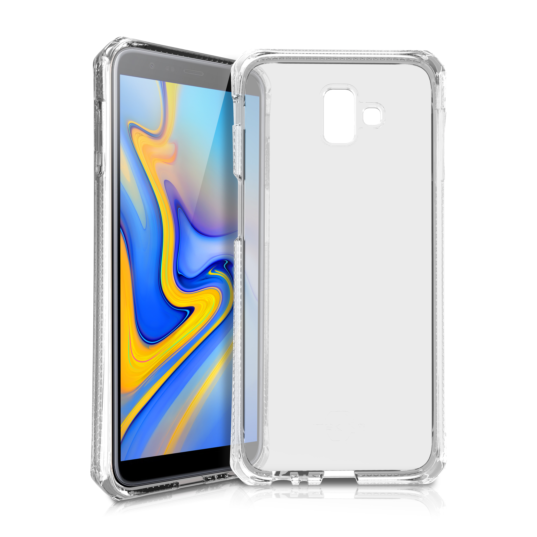 Coque renforcée Galaxy J6 Plus Itskins transparente