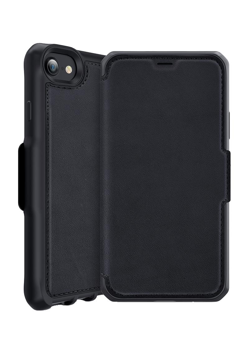 Etui folio Hybrid iPhone 6s Plus/7 Plus/8 Plus Itskins noir