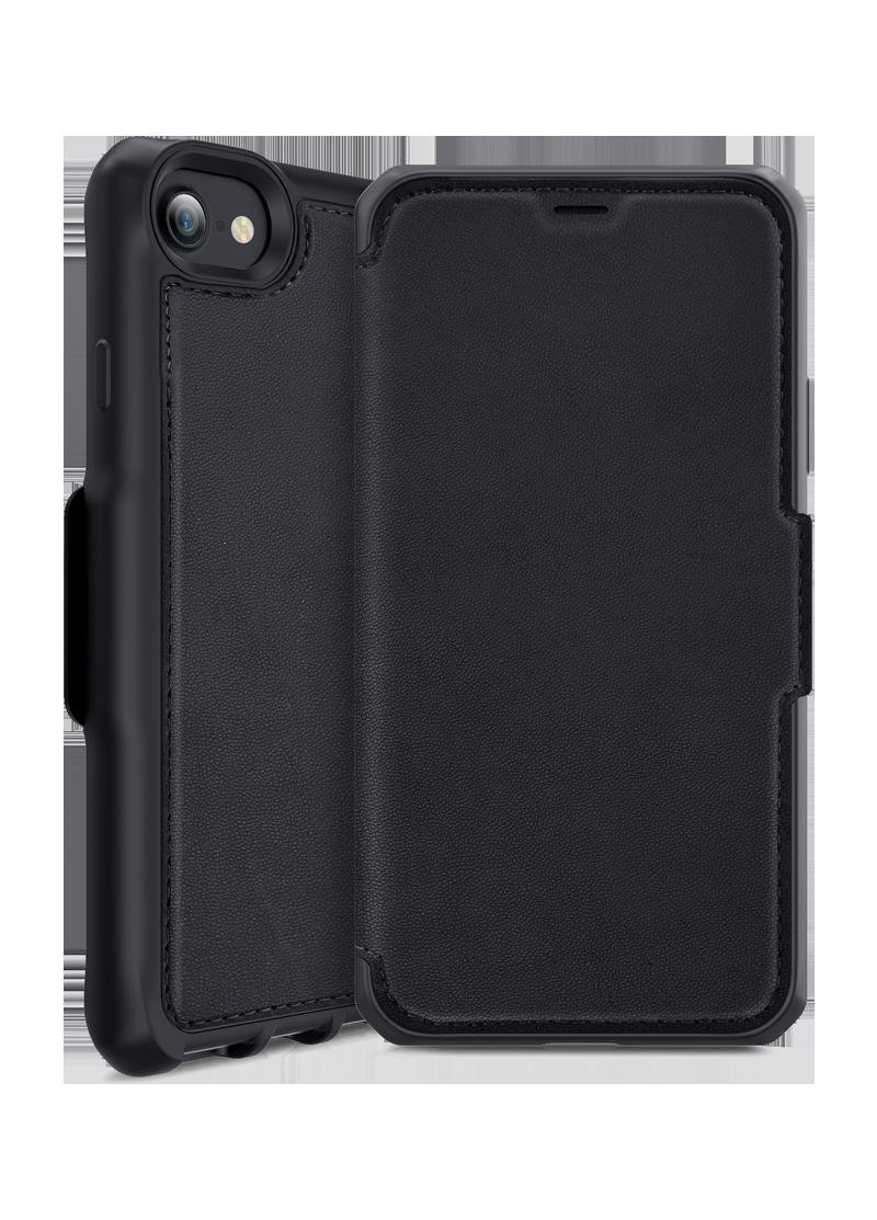 Etui folio Hybrid iPhone 6s / 7 / 8 Itskins noir