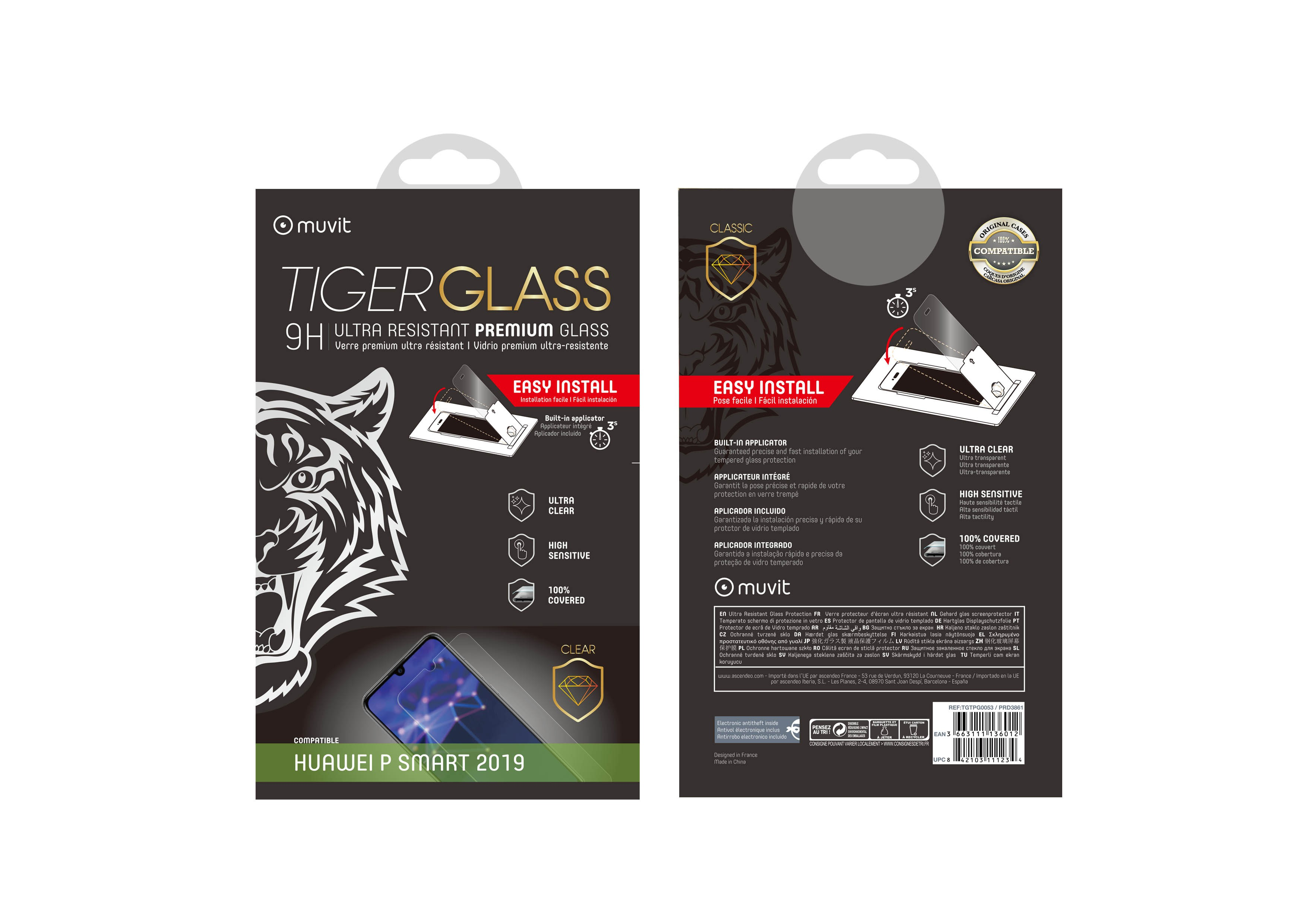 Film Tiger Glass Huawei P Smart 2019