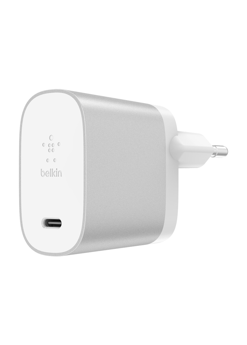 Chargeur secteur USB-C BOOST CHARGE Belkin (27 W) blanc
