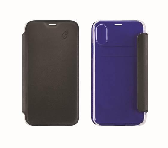 Etui folio Beetle Case iPhone 6 Plus / 7 Plus / 8 Plus noir