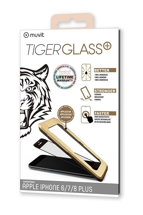 Film Tiger Glass+ iPhone 8 Plus transparente