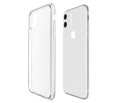 Coque Hybrid QDOS iPhone 11 transparente