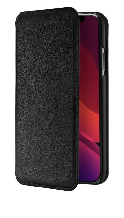 Etui cuir QDOS Milano iPhone 11 Pro Max noir