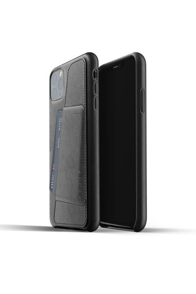 Coque cuir Mujjo iPhone 11 Pro Max noir