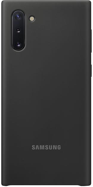 Coque Samsung silicone Galaxy Note10 noir