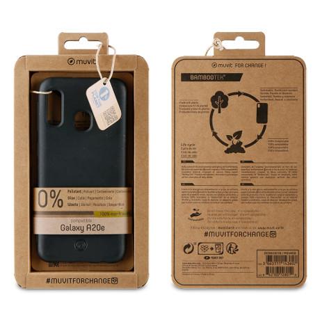 Coque Bambootek Galaxy A20e noir
