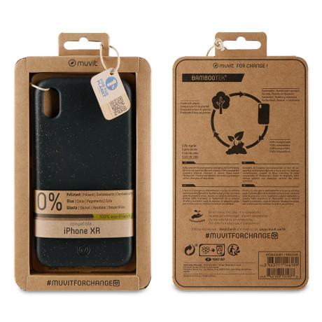 Coque Bambootek iPhone XR noir