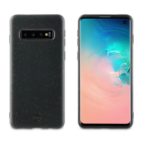 Coque Bambootek Galaxy S10 noir