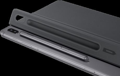 Book cover Galaxy Tab S6 noir