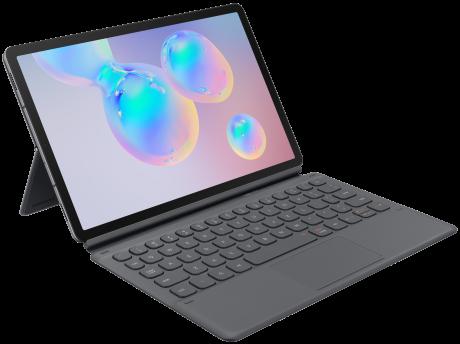 Book cover keyboard Galaxy Tab S6 noir