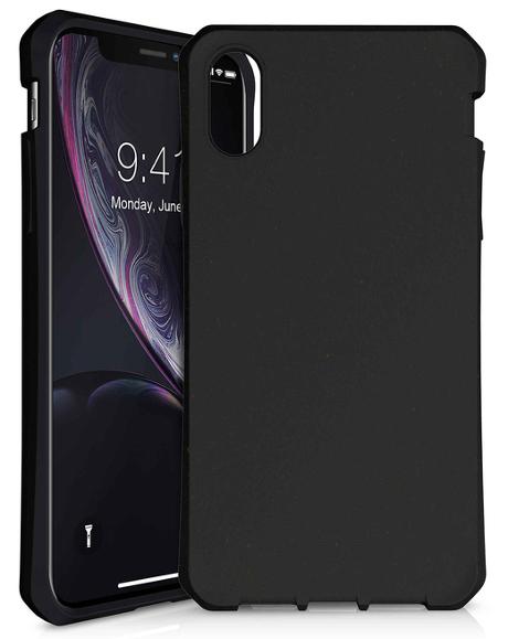 Coque renforcée Feronia Bio iPhone XR noir