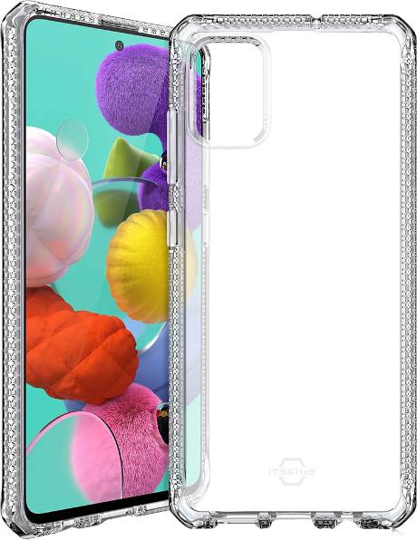 Coque renforcée Galaxy A51 Itskins transparente