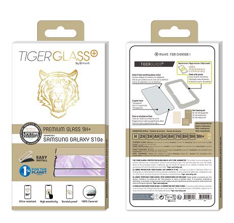 Film Tiger Glass+ Galaxy S10e transparente