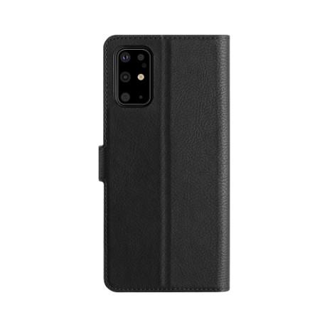 Etui folio Xqisit Galaxy S20+ noir