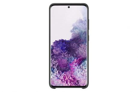 Coque Samsung silicone Galaxy S20+ noir