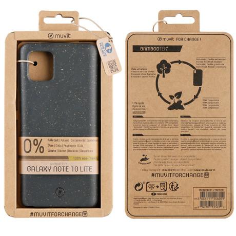 Coque Bambootek Galaxy Note10 lite noir